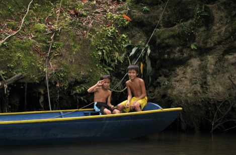 two younger brothers of our boatdriver